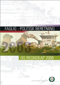 Forside - årsberetning 2008
