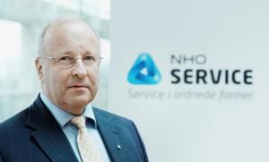 Administrerende direktør NHO Service Petter Furulund