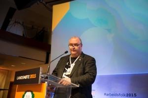 Landsmøte 2015 - Thorbjørn Jungård - på talerstolen