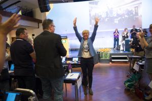 Landsmøtet 2015 - Erna Hagensen - valg
