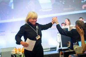 Landsmøtet 2015 - Janita Blomvik - syriske flyktninger
